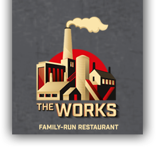 Eat at the works